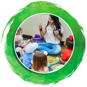 Curriculum, Program & Educational Enhancements Every day at Oak Village Academy preschool and day care in Cary, NC