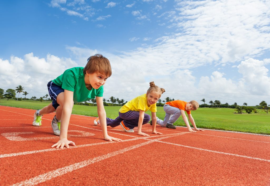 Kids Running - Organized Sports