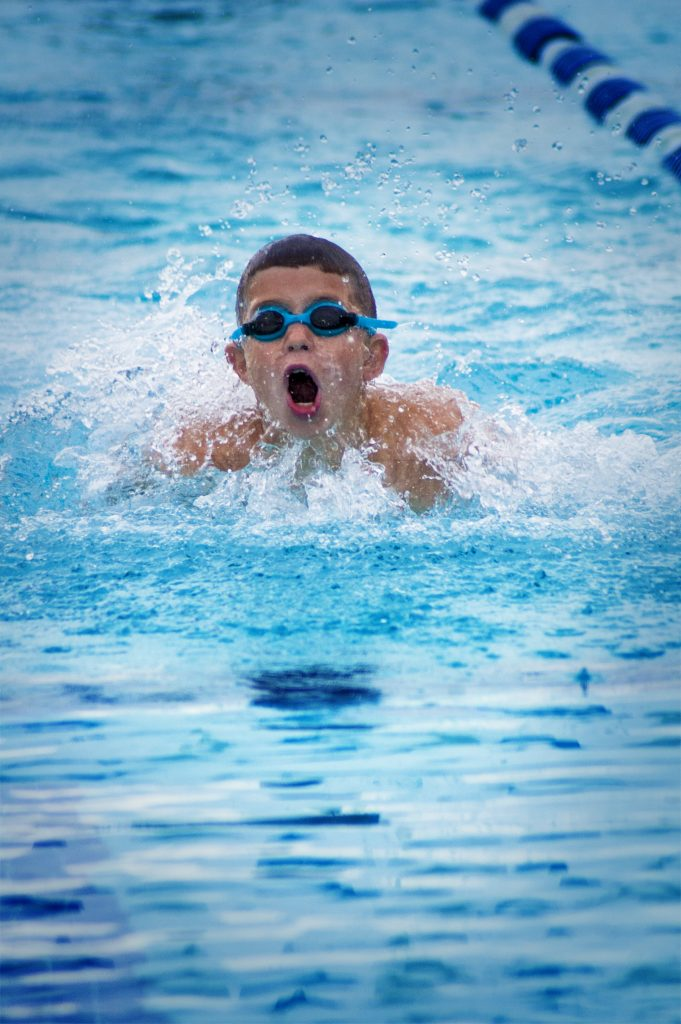 Child Swimming - Organized Sports