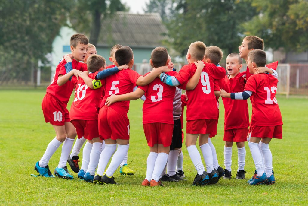 Children on Soccer Team - Organized Sports